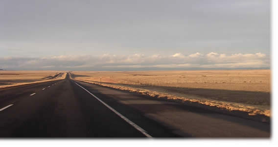 the open road: New Mexico, 2004